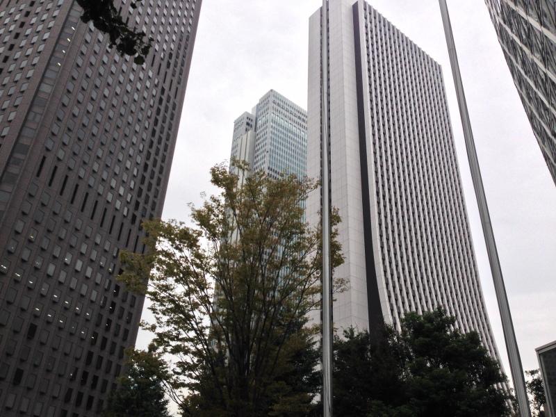 Clouds in Shinjuku